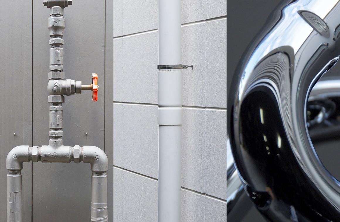 漏水と配管